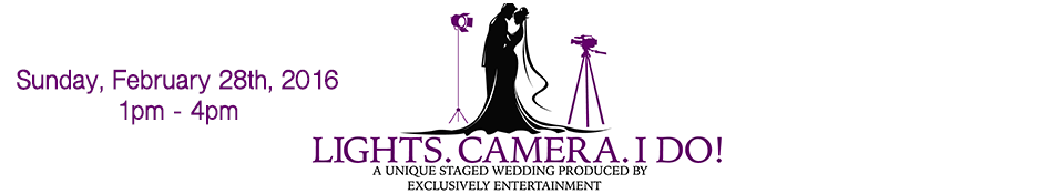 Bridal Shows in DC | Washington DC Bridal Show | Lights. Camera. I Do!